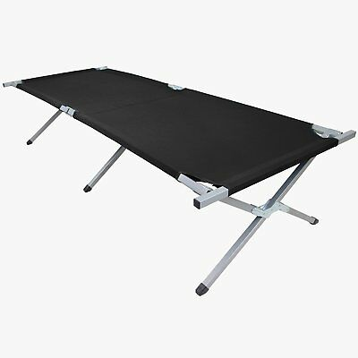 Cot bed HOLIDAY 190 x 64 x 41 cm by BB Sport, Colour:black