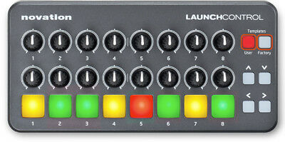 Novation Launch Control USB Controller for Ableton with Knobs/Dials & Pad