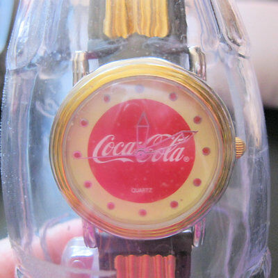 COCA COLA 2002 Watch in Coke Bottle New with Tags Unisex