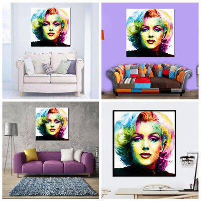 Marilyn Monroe Painting Home Room Decoration Print Poster Picture Canvas Decor