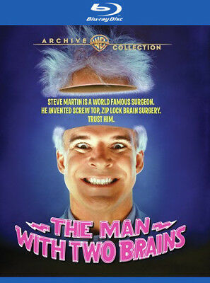 The Man With Two Brains [New Blu-ray] Manufactured On Demand, Amaray Case, Dig