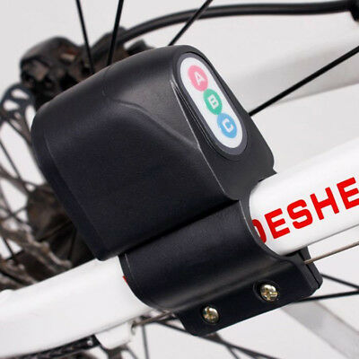 Bike Password Lock Alarm Super Loud Sound Bicycle ABC Security Anti-theft FSAQ