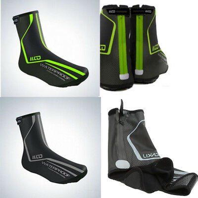 Cycling Shoe Cover Reflective Rain Waterproof  Warm Bicycle Overshoes Boot Cover