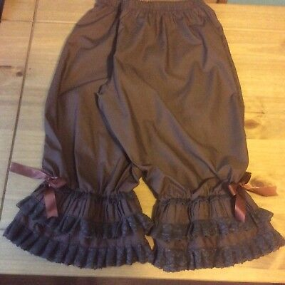 Brown Steampunk  bloomers
