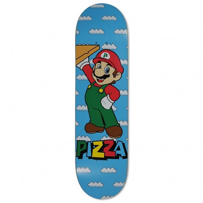 "Pizza Mario 8.375"" Skateboard Deck"
