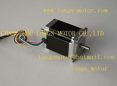 Nema 23 dual shaft stepper motor 290oz.in 3.0A 23HS8430B  4-WIRES CNC Router/KIT