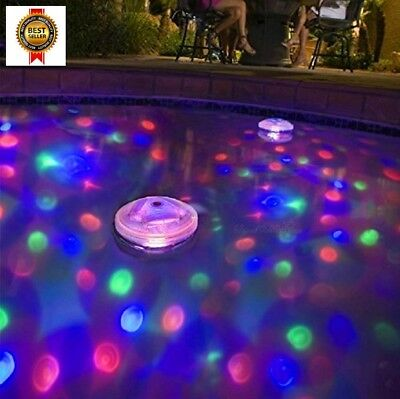 Ailiebhaus Pond Light LED Swimming Pool Waterproof Floating Lights Hub Disco NEW