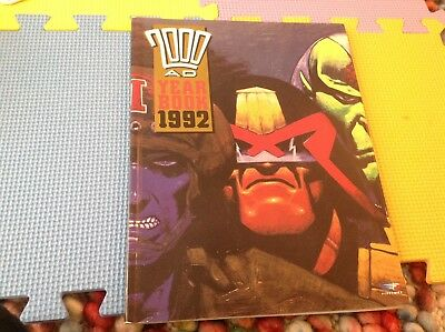 2000AD Yearbook 1992 Wagner Grant et Al