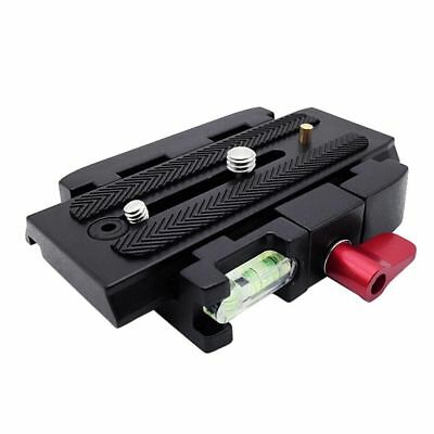 P200 Quick Release Plate QR Clamp Adapter Mount f Manfrotto 501 500AH 701HDV 577