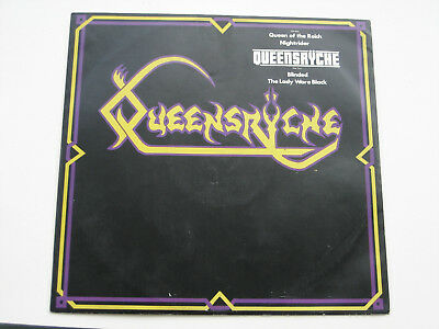 """Queensryche - Queen Of The Reich (EMI Records 4 Track Debut Vinyl 12"""" EP - 1983)"""