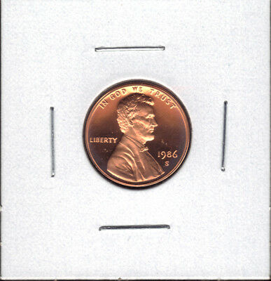 1986-S Proof Lincoln Cent