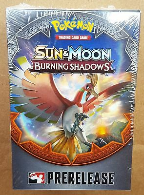 Sun & Moon Burning Shadows Prerelease Kit Box Pokemon TCG Factory Sealed