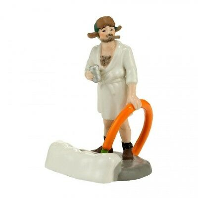Dept 56 Snow Village Christmas Vacation COUSIN EDDIE IN THE MORNING 4030741 BNIB