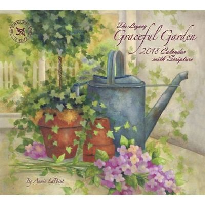 Graceful Garden (Annie LaPoint) 2018 Wall Calendar by Legacy/Lang NEW, Free Post