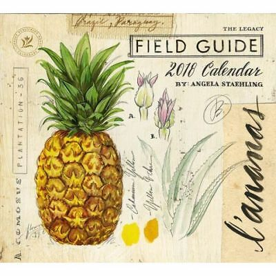 Field Guide (Angela Staehling) 2018 Wall Calendar by Legacy, NEW, Free Post