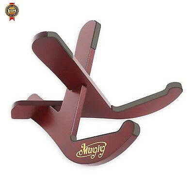 Mugig Ukulele Stand Universal X-Frame Style Wooden Stand Top Quality NEW