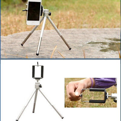 1 Pc Tripod Cell Phone Stand Bracket Holder For Samsung Galaxy Iphone Aluminum