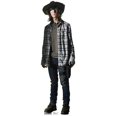 CARL GRIMES The Walking Dead CARDBOARD CUTOUT Standup Standee Poster Riggs F/S