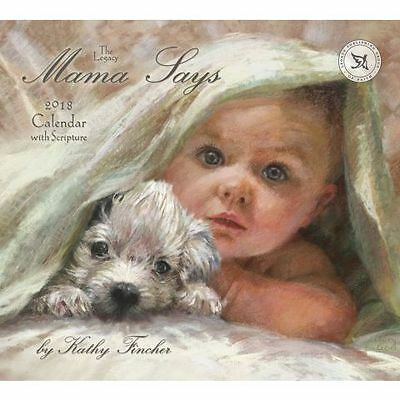 Mama Says (Kathy Fincher)  2018 Wall Calendar by Legacy/Lang, NEW Free Post