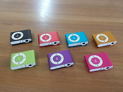 MINI MP3 PLAYER BRAND NEW 8GB or 16GB MEMORY WITH CLIP - Local Brisbane Seller !