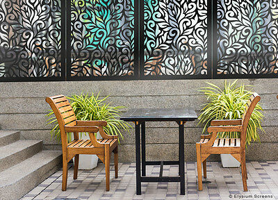 Home & Garden Decorative Screens Indoor Outdoor Garden Décor Wall Art  1200x600