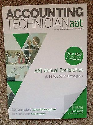 AAT Accounting Technician Magazine Jan/Feb 15 Annual Conference Issue