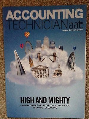 AAT Accounting Technician Magazine Jul/Aug 14 High & Mighty Issue