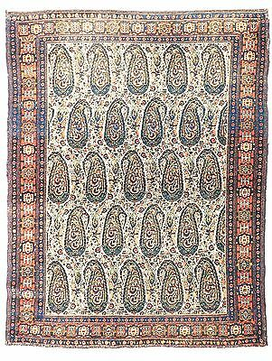 "Antique Persin Senneh rug. 3'7""x 4'9"""