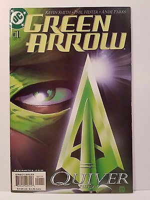 Green Arrow (2001) #1 NM- Kevin Smith - Hester - Parks - Wagner - Oliver Queen