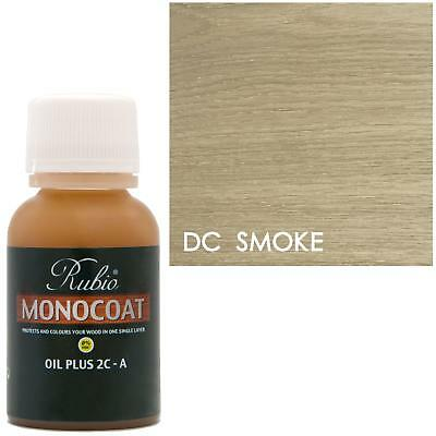 Rubio Monocoat Oil Plus 2C-A Sample Wood Stain DC Smoke