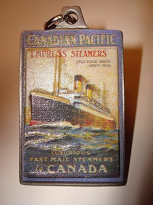 Empress Of Ireland Canadian Pacific Line Cruise Ship Metal Key Holder