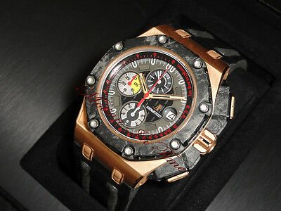 Audemars Piguet Grand Prix 18k Rose Gold Limited 650 Pieces 26290ro