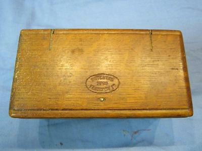 Singer 1889 Wood Folding Puzzle Box With Attachments For Treadle Machine