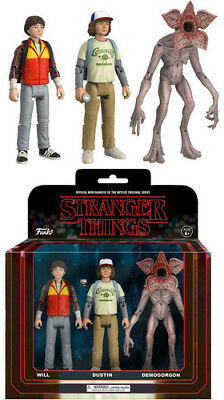 Stranger Things - 3pk - Pack 2 Funko Action Figure: Toy