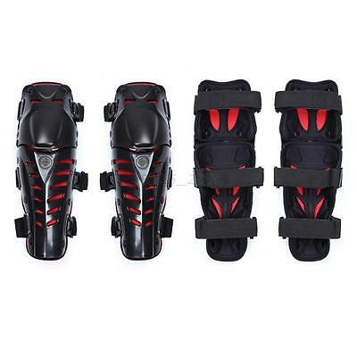 2Pcs Adults Motorcycle Bike Knee Pads Guard Pad Shin Armor fits Knee Protector
