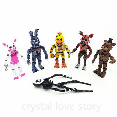New FNAF Five Nights at Freddy's 2 Nightmare Action Figures Toy Hallowmas Gift