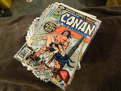 1970 MARVEL Comics CONAN The Barbarian #100-273 + Annuals #3-12 - Huge Lot Of 70