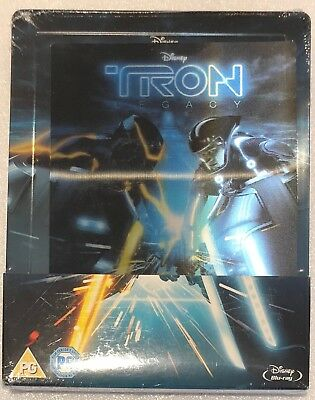 Tron Legacy Steelbook - Lenticular UK Exclusive Limited Edition Blu-Ray