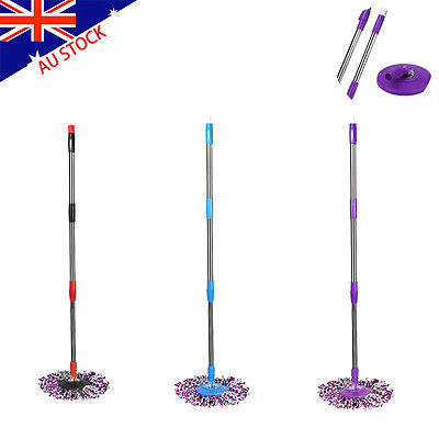 Useful Spin Mop Pole Handle Replacement for Floor Mop 360 No Foot Pedal Version