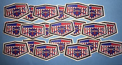 20 Lot Vintage 1950's Golf Shirt Hat Jacket Country Club Blazer Patches Crests
