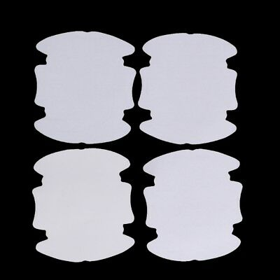 4 Pcs Universal Invisible Car Door Handle Scratches Protective Protector Films