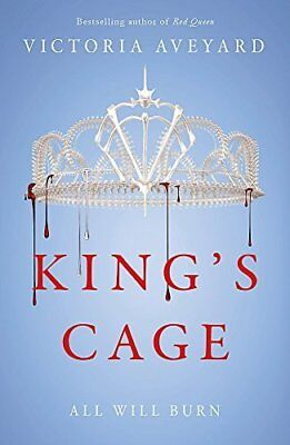 Kings Cage (Red Queen 3) by Victoria Aveyard New Paperback Book