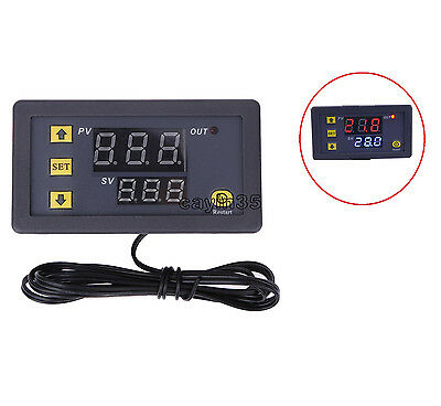 DC 12V 20A LCD Digital Thermostat Temperature Controller Meter Regulator UK