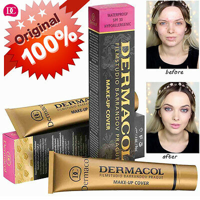 100% Original Dermacol Haute Couvrance Waterproof Hypoallergenique Film Studio