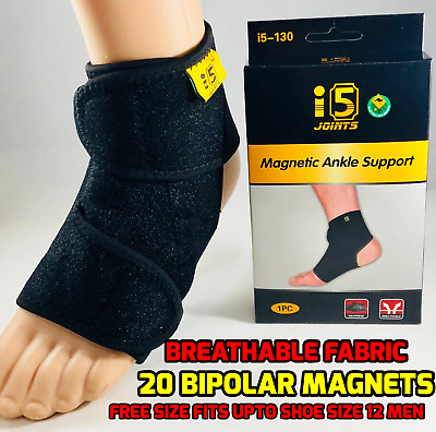 i5joints 2pcs MAGNETIC ANKLE SUPPORT Ankle Guard Planter Fasciitis Foot Support