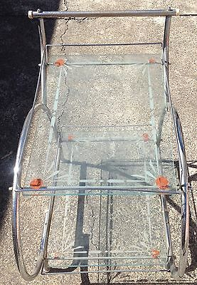Art Deco Bar Drinks Trolley Original Item Needs To Be Restored