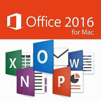 Microsoft Office 2016 For Mac - Home & Business -5 MAC USERS - SPECIAL OFFER***