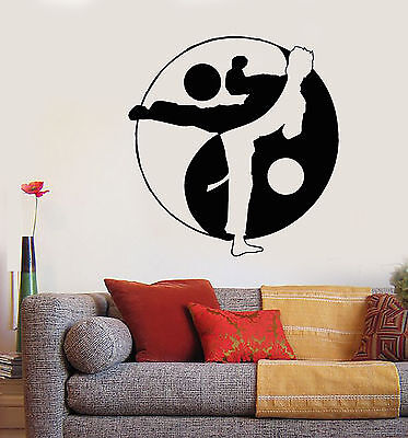 Martial Arts symbols wall stickers,Martial Arts writing decal Eternity Energy