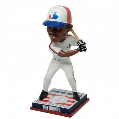 Tim Raines Montreal Expos 2017 Baseball Hof Induction Bobblehead #/216 Nib