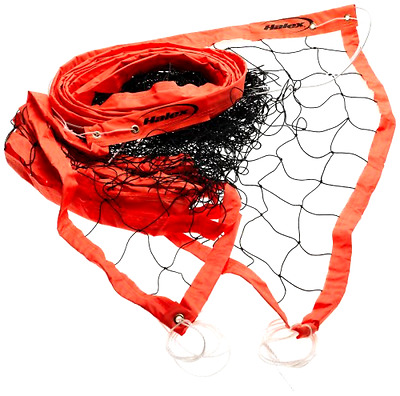 volleyball net - official heavy duty cable (orange)
